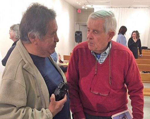 Conrad King and James Bacque, May 20,2017